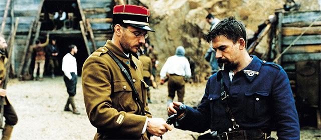 Samuel Le Bihan et Philippe Torreton dans Capitaine Conan (1996)