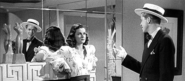 Joan Bennett et Dan Duryea dans La Femme au portrait (1944)