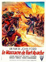 Affiche du Massacre de Fort Apache (1948)