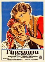 Affiche de L'Inconnu (1927)