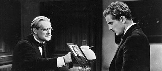 Lionel Barrymore et Phillips Holmes dans L'Homme que j'ai tué (1932)