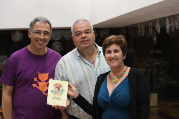 autores,Daniel Martín, Juan Carlos Saavedra y Sandra Franco.
