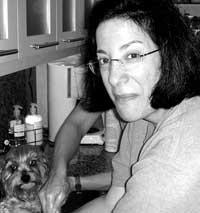 Roz and her dog Tina