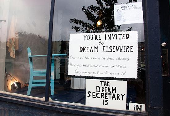 Elsewhere Collaborative: Dreams exhibit