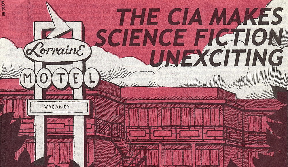 """Abner Smith: """"The CIA Makes Science Fiction Unexciting"""""""