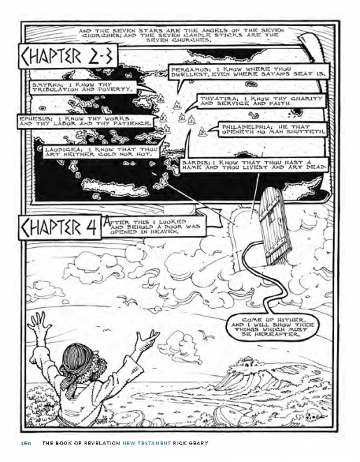 Page from Graphic Canon, Vol. 1