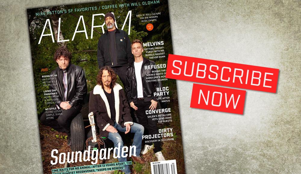 ALARM Magazine: subscribe now!