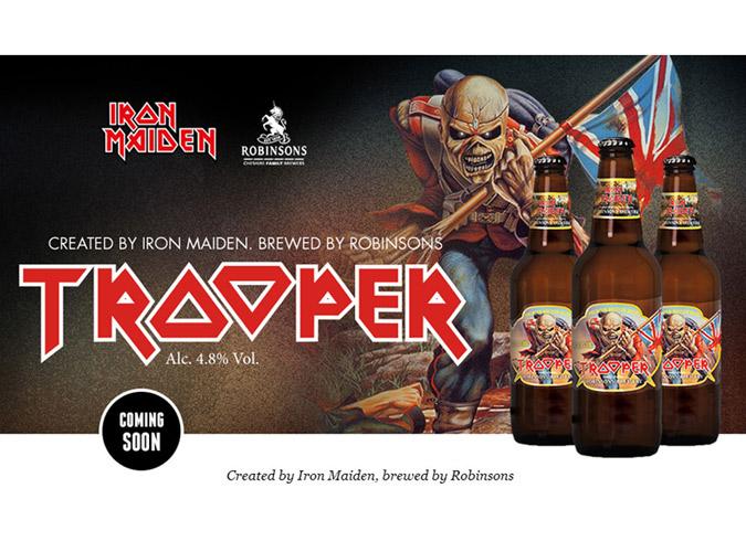 Iron Maiden's Trooper Beer