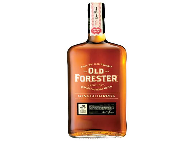 Old Forester single-barrel bourbon