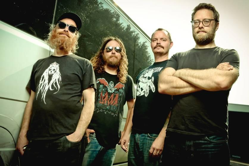 Red Fang photo by Tim Tronkoe