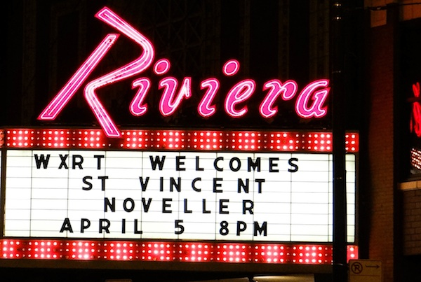 St. Vincent @ Riviera