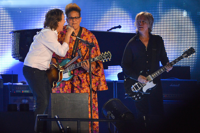 Paul McCartney with Brittany Howard