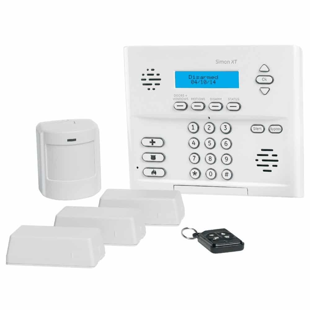 Ge Simon Xt Wireless Alarm System