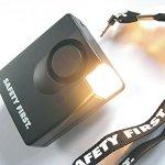 Mobile Alarmanlage mit Blitzlicht