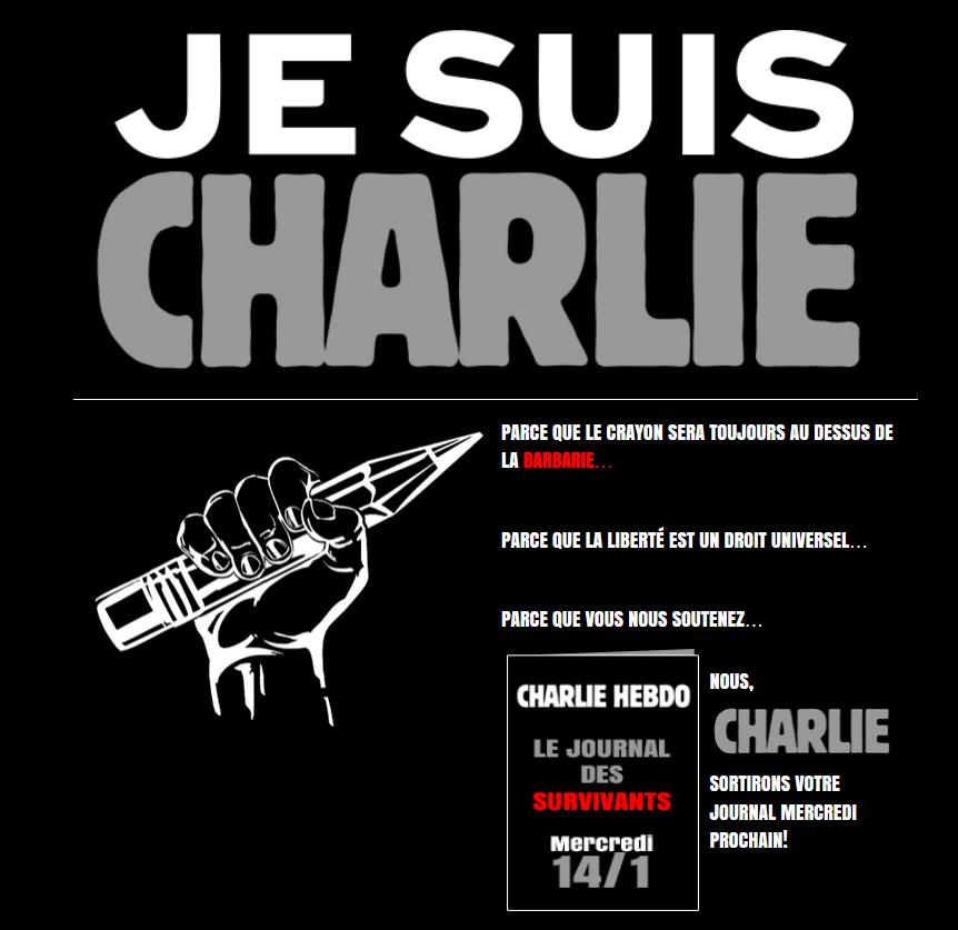 Journal Charlie hebdo