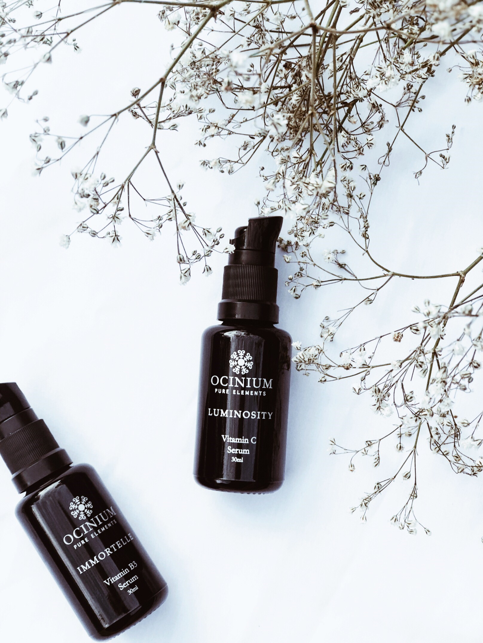 Ocinium's answer to brighter, clearer and overall healthier skin