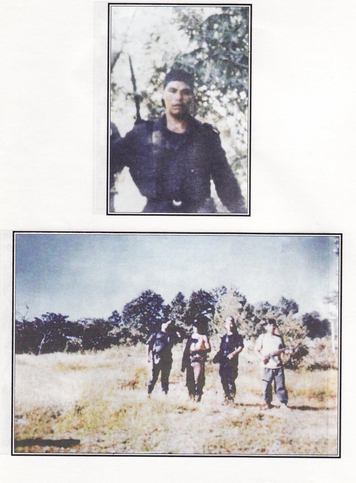 Fotos de los paramilitares de Acteal del Libro Blanco de la PGR