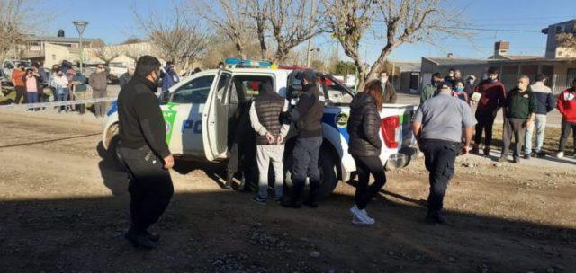 Catriel Persecucion policial a una pareja Destrozos y un detenido