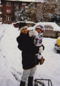 1992 г., с дъщеря ми София