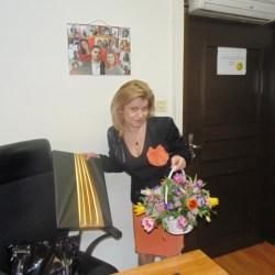Изненада от колегите за рождения ми ден