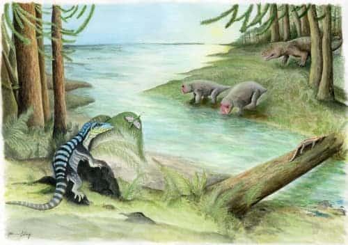 Iguana-Sized Dinosaur Cousin Discovered in Antarctica