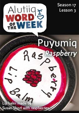 Alutiiq Word of the Week-July 13