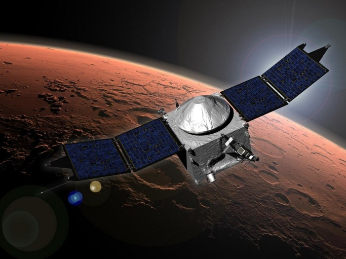 NASA's MAVEN Studies Passing Comet and Its Effects
