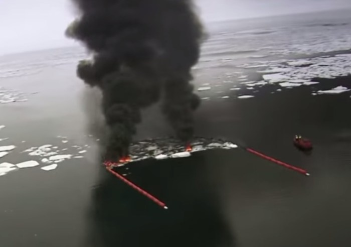 OP/ED Arctic Oil Spill Technology