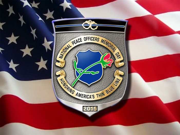 Flags Lowered for Peace Officers Memorial Day