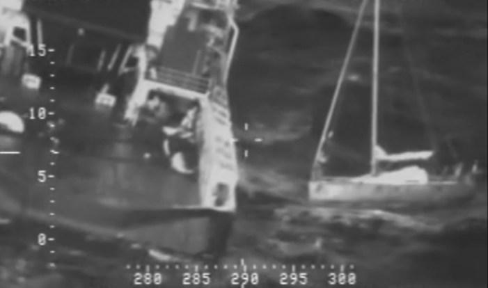 Coast Guard Monitors Rescue of Mariner 400 Miles South of Cold Bay