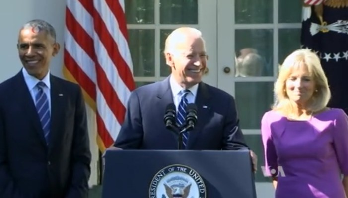 Biden Says He's Not Running for President