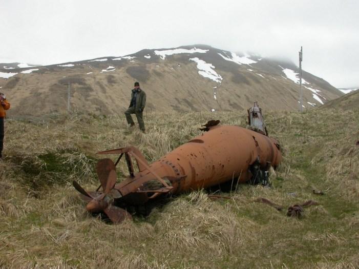 Human-Powered Torpedo on an Alaska Island
