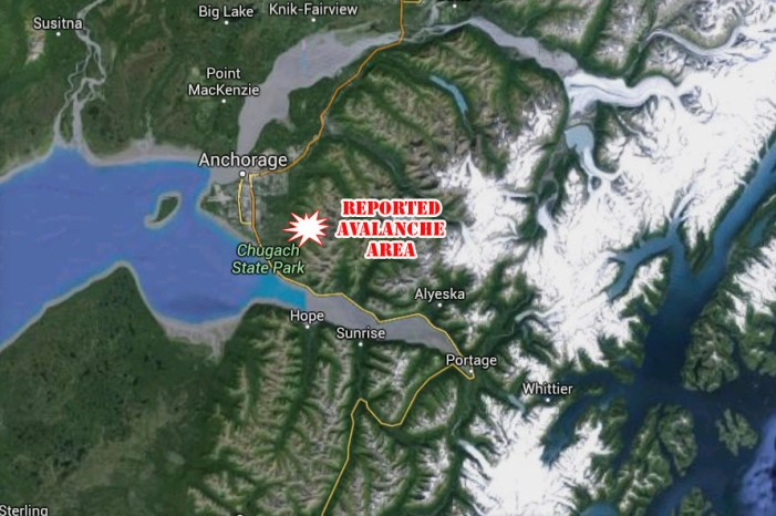 Searchers Respond to Avalanche Scene after Erroneous 911 Call