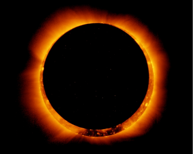 Total Eclipse of the sun. Image-NASA