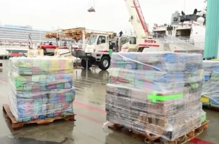 USCG Offloads 14 Tons of Cocaine Seized in Eastern Pacific Drug Transit Zone