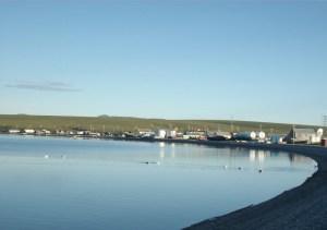 The Northwestern community of Teller on the Seward Peninsula. Image-Citydata