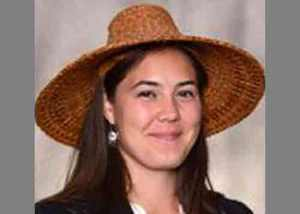 The Tlinget Haida Central Council's new General Council, Madeline Soboleff. Image THCC