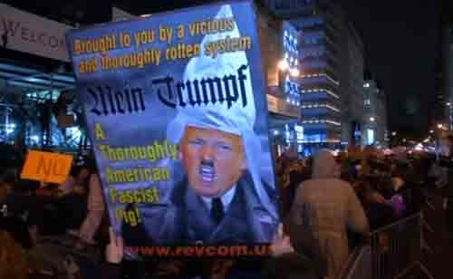 Thousands March in Anti-Trump Protests Across U.S.