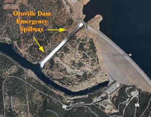California Residents Remain Evacuated in Damaged Dam Area