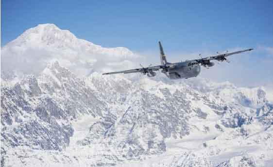 Alaska Air Guardsmen bid farewell to last C-130 Hercules aircraft