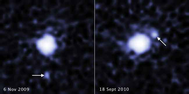 Hubble Spots Moon Around Third Largest Dwarf Planet