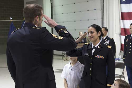 Soldier Realizes Dream: Becomes an Officer 19 Years after Joining the Military