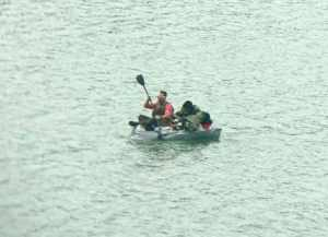 A Coast Guard Station Juneau smallboat crew rescued a 32-year-old man after his craft began taking on water. U.S. Coast Guard photo