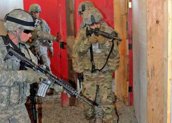 Alaska Army National Guardsmen Train in Urban Warfare