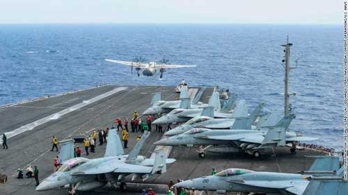 US Expected to Move Only Aircraft Carrier in Asia-Pacific Region to Middle East