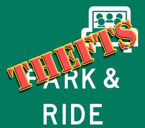 Rash of Park and Ride Thefts in Wasilla/Palmer Tuesday