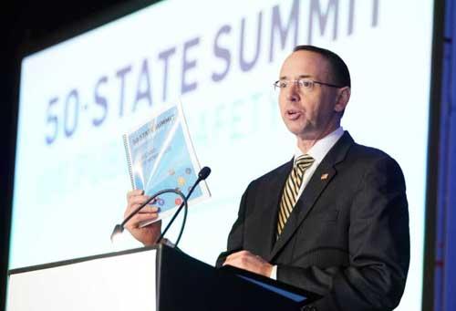 Deputy AG Rosenstein to Meet with Trump Thursday