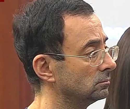 Former US Olympics Doctor Sentenced for Sexually Abusing Female Gymnasts