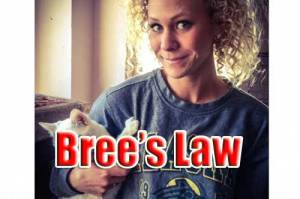 Breanna Richelle Moore, shot in 2014 by her boyfriend. Image Bree's GoFundMe Page