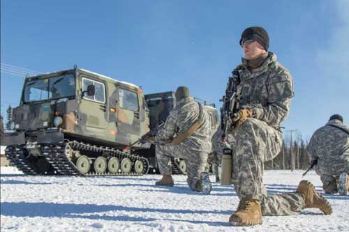 Arctic Skills Tested in Alaska's Interior during Arctic Eagle 2018